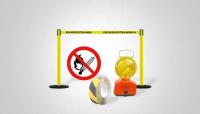 Billede til varegruppe Afspærring, advarselsskilte, antiskridbelægning
