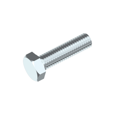 Sechskantschrauben ISO 8676 8.8 FG, Stahl verzinkt
