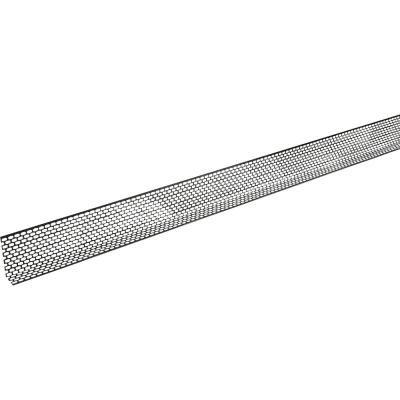 Ventilationsprofil alu sort 2,5 m
