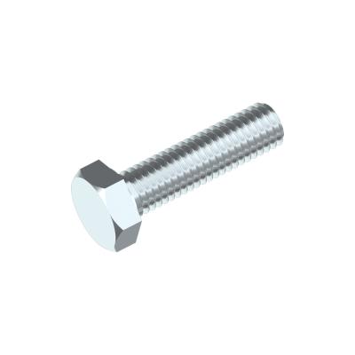 Sechskantschrauben ISO 4017 10.9, Stahl verzinkt