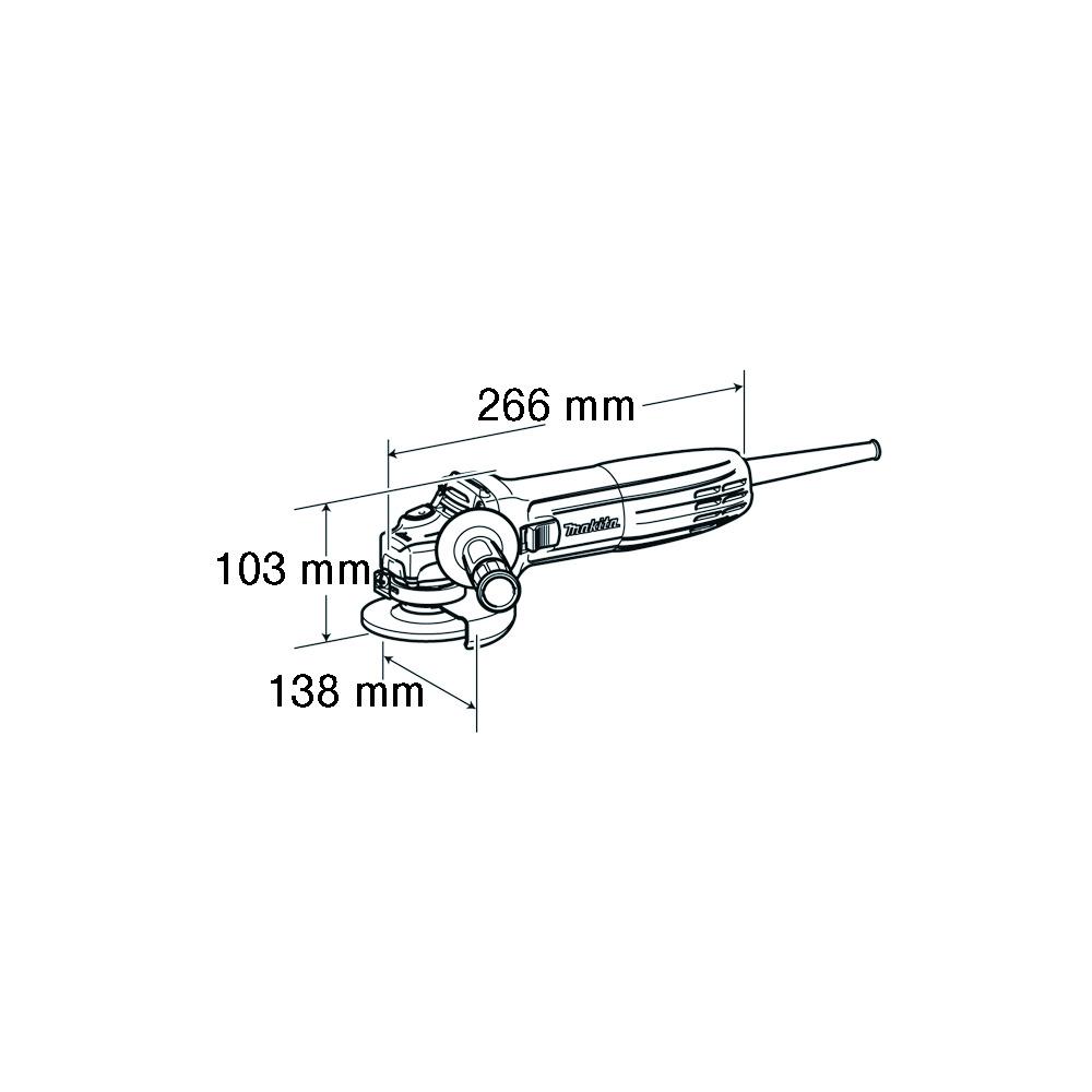 VINKELSLIBER 720W  GA5030R